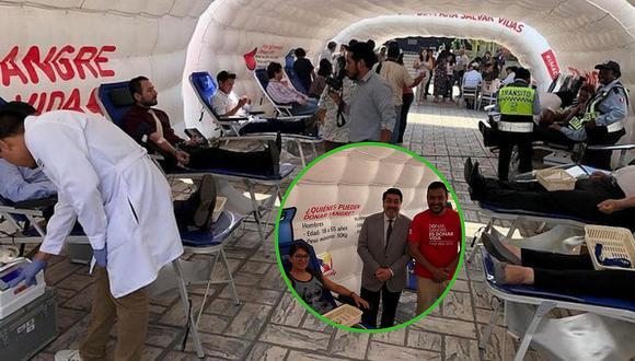 Realizan campaña de donación de sangre para pacientes del INEN en su lucha contra el cáncer