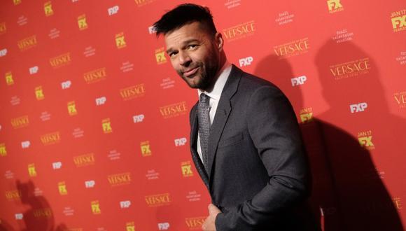 Ricky Martin se unió una vez más a las múltiples voces de la sociedad puertorriqueña que se oponen al nuevo Código Civil. (Foto: AFP)