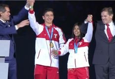 Entregan medallas de oro a dos jóvenes peruanos en la clausura de los Panamericanos | VIDEO