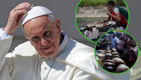 Papa Francisco pide por Venezuela y Nicaragua en mensaje de Navidad (FOTOS)