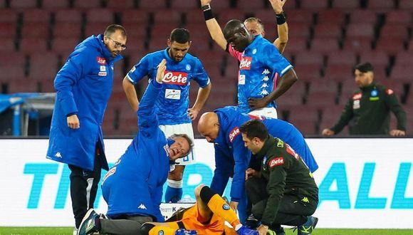 David Ospina, a quien Paolo anotó en el Nacional, es hospitalizado al desmayarse en partido