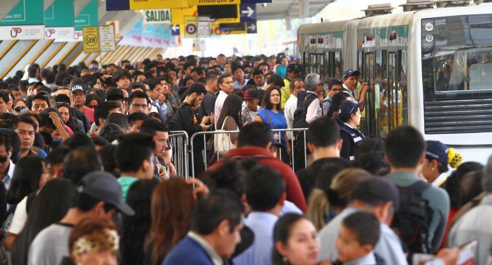 Estacion Naranjal del Metropolitano,volvieron las tarifas de 2.50 soles por recorrido.Fotos/Gonzalo Córdova. 75583