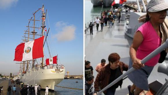 Base Naval del Callao abre sus puertas a todos este fin de semana