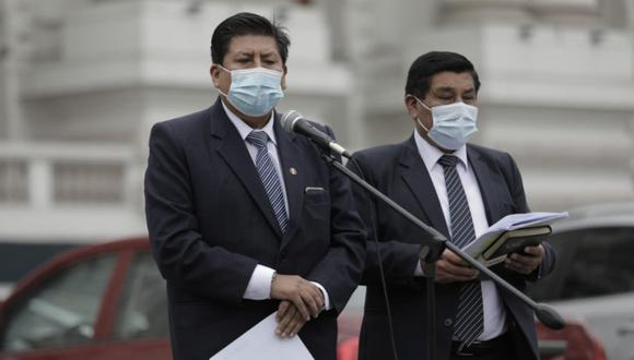Waldemar Cerrón criticó la actual conformación del gabinete liderado por Mirtha Vásquez. | Foto: Anthony Niño de Guzmán/ @photo.gec