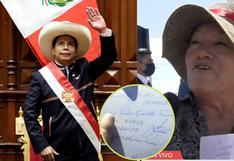 Pedro Castillo: profesora revela sin querer el número telefónico del Presidente