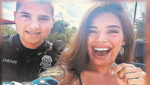 Policía se convierte en héroe al hallar anillo de compromiso de desesperada novia