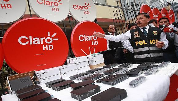 Cercado de Lima: Incautan equipos de TV satelital valorizados en S/. 200 mil [VIDEO]