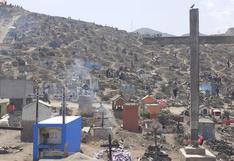 VMT: Miles de personas llegan al cementerio Nueva Esperanza│VIDEO