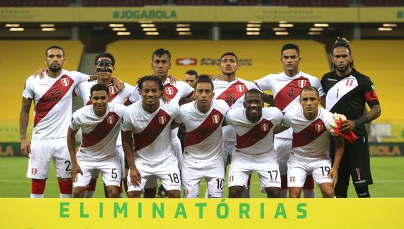 La selección peruana jugará tres partidos en octubre por las Eliminatorias. (Foto: FPF)