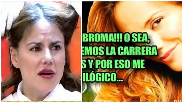 Mónica Hoyos no soporta que le nombren sobre sus piojos y responde así (VIDEO)