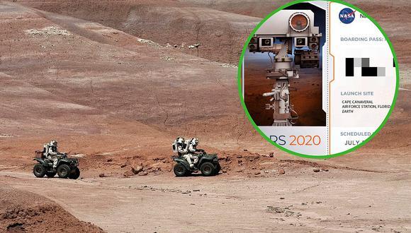"""¿Cómo hacer para que Mars 2020 de la NASA """"escriba"""" mi nombre en Marte?"""