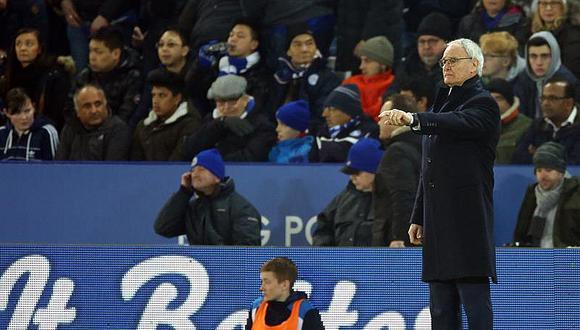Leicester se va a pique, hacia la baja, y da voto de confianza a Ranieri