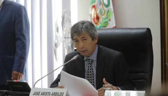 José Arista Arbildo tuvo un breve paso por el Ministerio de Agricultura y Riego entre enero y abril de 2018. (Foto: GEC)