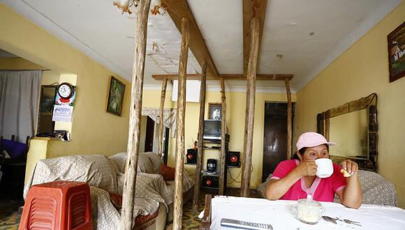 Túnel Santa Rosa:  22 casas quedaron rajadas y vecinos se quejan [FOTOS]