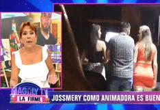 Jossmery Toledo fue pifiada cuando debutó como animadora en discoteca y se negó a bailar   VIDEO