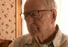 La historia de Derlin Newey, el repartidor de pizza de 89 años que recibió una propina de 12 mil dólares