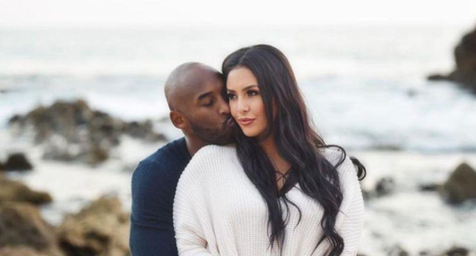 Kobe Bryant conoció a su esposa Vanessa en noviembre de 1999 y lo acompañó hasta los últimos días de su vida (Foto: Instagram)
