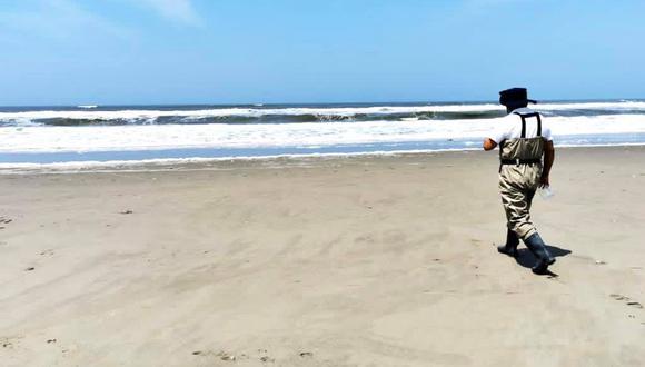 Lambayeque: las playas inspeccionadas fueron Puerto Eten, Monsefú, Santa Rosa, Playa Hermosa, Las Rocas y Pimentel. (Foto: Geresa Lambayeque)