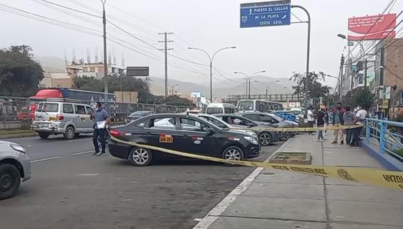Calle 1, lugar donde el jalador de pasajeros de taxi colectivo fue atacado a balazos por un sicario.