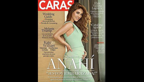 Anahí, ex integrante de RBD, anuncia su primer embarazo