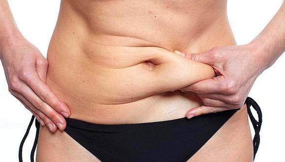 4 minutos de ejercicios diariamente puede reducir el vientre abultado