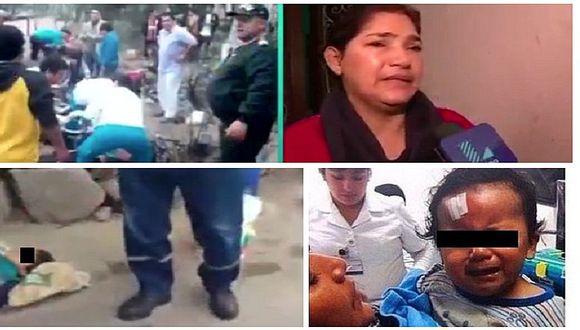 """Cerro San Cristóbal: conoce al """"ángel"""" de los niños que resultaron heridos (VIDEO)"""