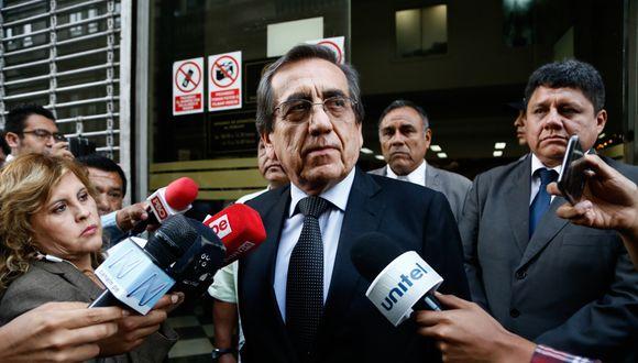 Jorge del Castillo habría tratado de encubrir el irregular pago a su exasesora, según audios difundidos el fin de semana. (Foto: joel alonzo)