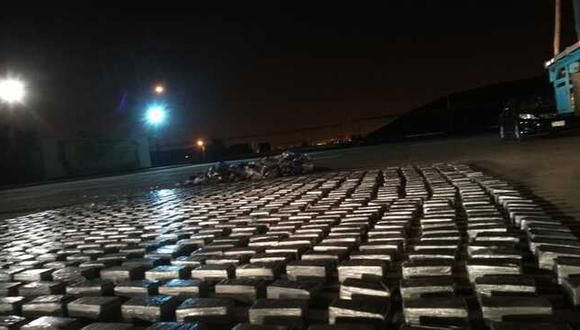 Droga fue internada en el local de la Dirandro. (Ministerio Público)