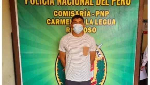 Alexander Jair Cerdán Puccier (21) fue reconocido por los agraviados como el sujeto que los asaltó en un bus en el Callao.