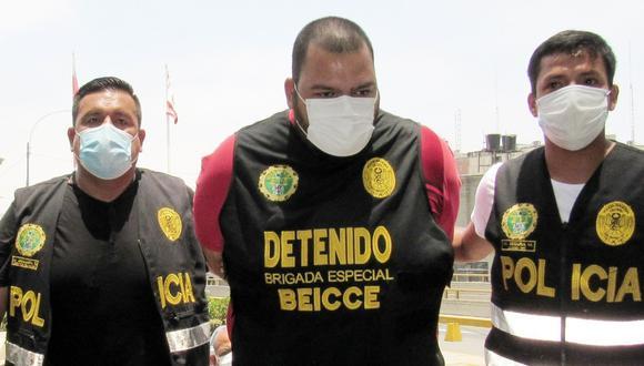 Diovan José Pineda Godoy (34), alías 'Jhoan', fue capturado en junio de 2019 también en San Juan de Lurigancho.