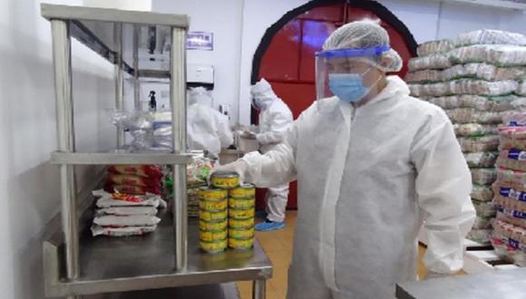 Loreto: durante la entrega se adoptan todas las medidas de control dispuestas por el sector Salud.