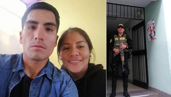 Policía atacó a balazos a su enamorada y al amigo que la acompañaba