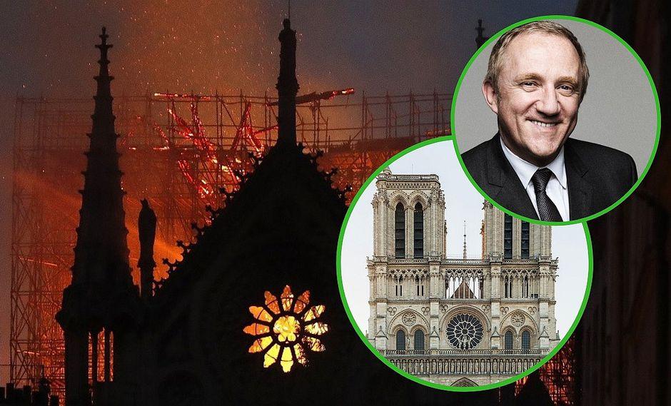 Catedral de Notre Dame se derrumba por feroz incendio