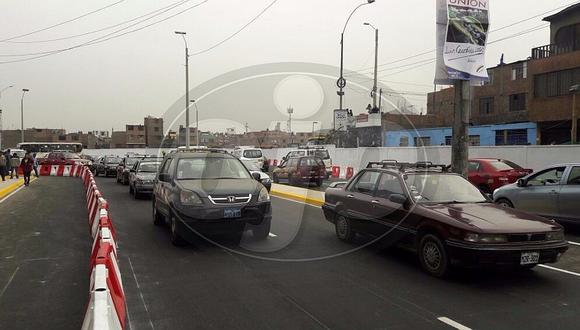 Puente Bella Unión: Municipalidad de Lima inaugura obra con marcha blanca (FOTOS y VIDEO)