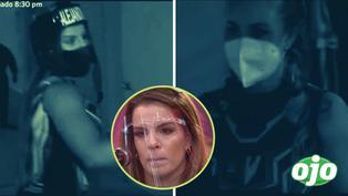 """Alejandra Baigorria y su fuerte pelea con Ducelia Echevarría detrás de cámaras: """"¡Eres mala!"""""""