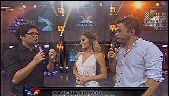Reto de Campeones: Ximena Hoyos realza su fortaleza y ¿reta a Luciana Fuster?