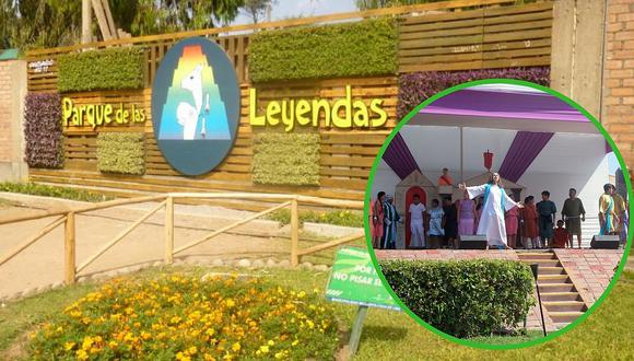 Las actividades en el Parque de las Leyendas durante Semana Santa
