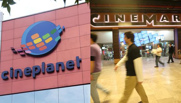 Cineplanet y Cinemark. (Foto composición: GEC)