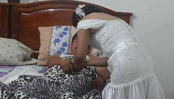 Facebook: enfermera abandona su boda para atender a paciente enfermo (FOTO)