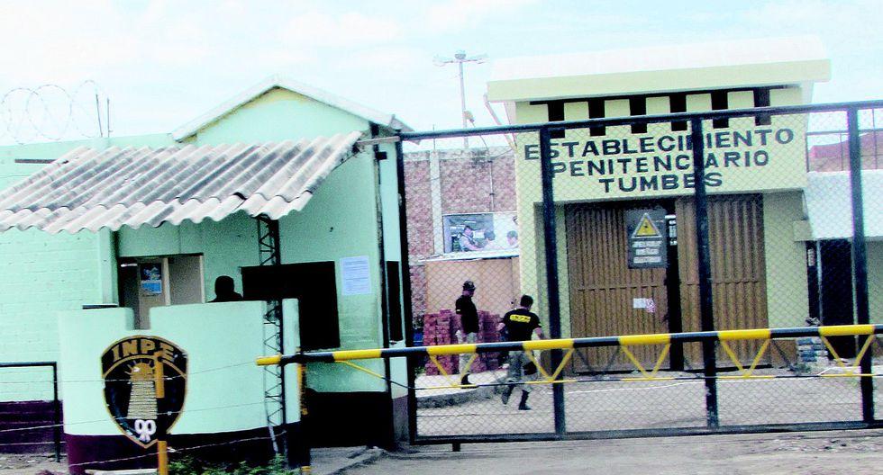 Tumbes. El agente Paúl Barba trabajó 20 años como seguridad en este centro penitenciario. (GEC)
