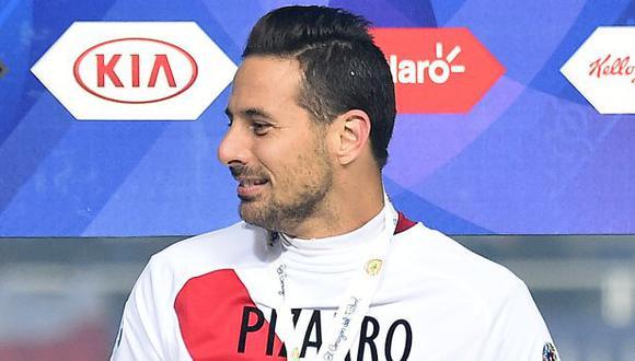 Claudio Pizarro se refirió a las chances de la selección peruana rumbo a Qatar 2022. (Foto: AFP)
