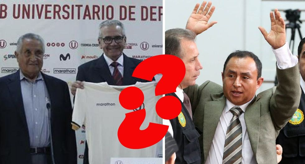 ¿Gregorio Santos? Administrador de la 'U' llamó como el exgobernador de Cajamarca a su nuevo técnico