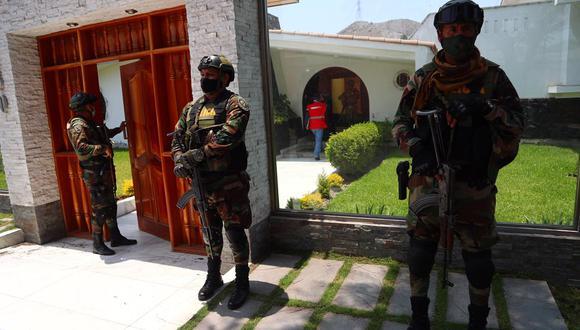 Áncash: en operativo antidrogas se allanaron 11 viviendas en Caraz (Foto: GEC).