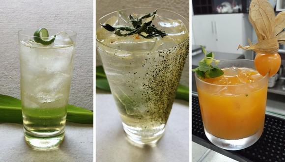 """Tres recetas para disfrutar de la """"Semana del chilcano"""" sin salir de casa. (Fotos: Cortesía)."""