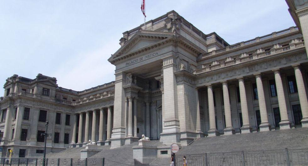 La Presidencia del Poder Judicial anunció que acatará el estado de emergencia nacional decretado por el Poder Ejecutivo. (Foto: GEC)