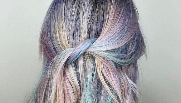 2 tendencias de cabello se juntaron para crear el 'cabello unicornio'