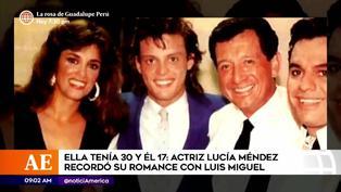 Lucía Méndez detalló momentos inéditos de su amor 'prohibido' con Luis Miguel