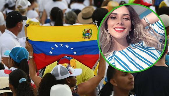 Korina Rivadeneira dedica mensaje para sus compatriotas venezolanos