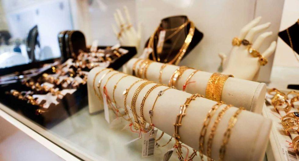 Los asistentes podrán adquirir aretes, medallas, anillos, cadenas lomo de corvina, denarios y pulseras de oro, entre otros artículos de gran valor. (Foto: Andina)