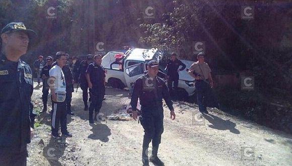 Ayacucho: emboscada en el VRAEM deja a dos policías muertos